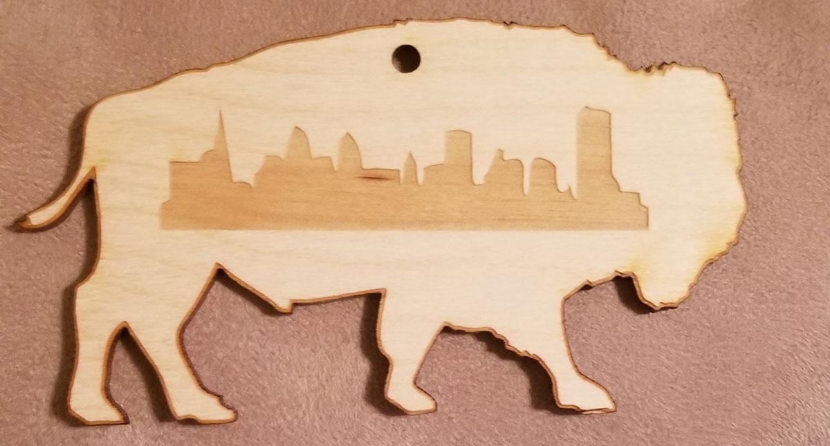Laser Cut Buffalo